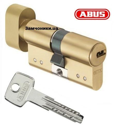 Цилиндр Abus KD15 90мм. (50х40Т) ключ-поворотник латунь