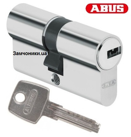 Цилиндр Abus D6 60мм. (30х30) ключ-ключ никель