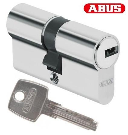 Цилиндр Abus D6 90мм. (35х55) ключ-ключ никель
