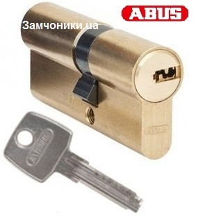 Цилиндр Abus D6 65мм. (30х35) ключ-ключ латунь