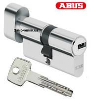 Цилиндр Abus KD6 70мм. (35х35Т) ключ-поворотник никель