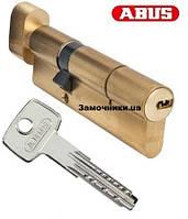Цилиндр Abus KD6 60мм. (30х30Т) ключ-поворотник латунь