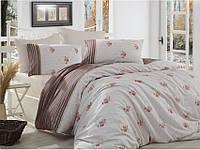 Комплект постельного белья ранфорс  Arya полуторный размер Miranda