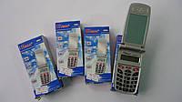 Карманный калькулятор Kenko 8965КК маленький.Калькулятор в виде мобильного телефона kk-8965A Универсальный кал