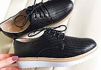 Кожаные женские туфли недорого, фото 1