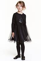 Платье нарядное для маленькой леди H&M на 4-5лет