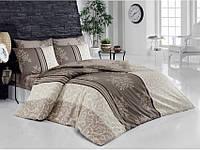 Комплект постельного белья ранфорс  Arya полуторный размер Natura