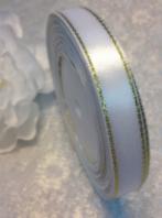 Атласные ленты с люрексом 1,2 см