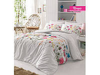 Комплект постельного белья ранфорс  Arya полуторный размер Nergiz