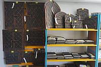 ✅ Дверки металлические кованные для печи на две створки 33 х 43 см
