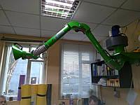 Вытяжное устройство для  поста пайки М 1,8 - 2,0 м