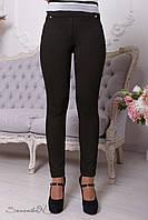 Стильные черные-коричневые брюки 2085  Seventeen 44-50 размеры