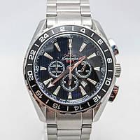 Часы OMEGA Seamaster GMT(Planet Ocean).хронограф.Класс ААА