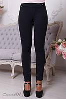 Стильные черные-синие брюки 2084  Seventeen 44-50 размеры