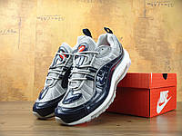 Кроссовки мужские  Nike air max 98 supreme grey. аир макс, обувь интернет