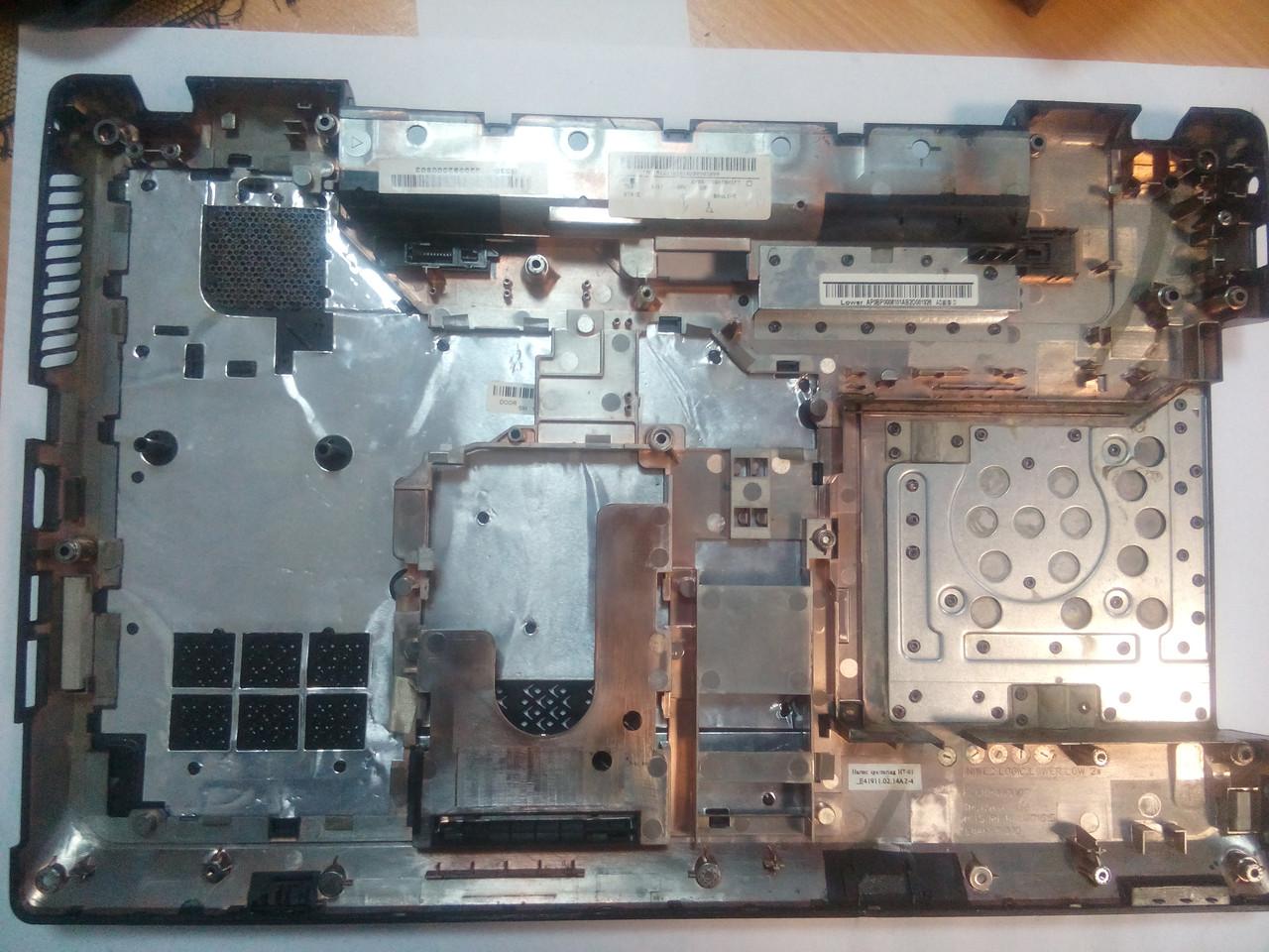 Нижняя часть корпуса LENOVO G560 с крышкой
