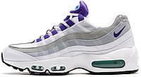 Мужские кроссовки Nike Air Max 95 Purple/White/Grey