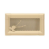 Вентиляционная решетка для камина Parkanex, Retro слоновая кость