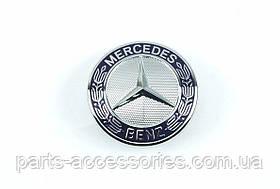 Эмблема значок на решетку радиатора Mercedes E E-Class W211 2002-09 E320 E350 E500 E550 Новый Оригинал