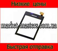 Сенсор Тачскрин Nokia Asha 300 черный