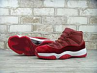 Кроссовки женские баскетбольные Air Jordan 11 GS Heiress. найк аир джордан, интернет магазин