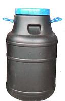 Бидон 50 л непищевой (черный)