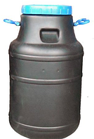 Бидон 60 л непищевой (черный)
