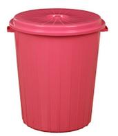 Ведро для мусора с крышкой 70 л Геркулес