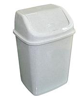 Ведро для мусора 5л с крышкой, Алеана