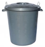 Ведро для мусора с крышкой фиксатором 23 л
