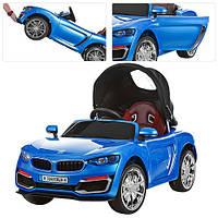 Детский электромобиль BMW кабриолет (синий)