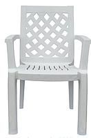 Кресло пластиковое Церсис белое