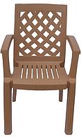 Кресло пластиковое Церсис бежевое