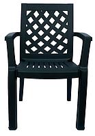 Кресло пластиковое Церсис зеленое