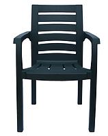 Кресло, стул пластиковое Жимолость зеленое
