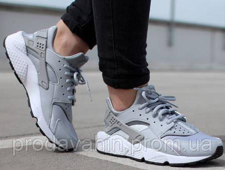 399662ae1ab5 Кроссовки мужские (унисекс) Nike huarache grey premium. найк хуарачи, найк  аир