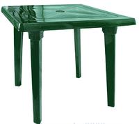Стол квадратный зеленый 80х80 см