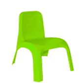 Стул детский пластиковый зеленый