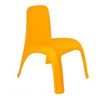 Стул детский пластиковый оранжевый