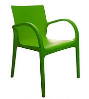 Стул пластиковый Гектор зеленый