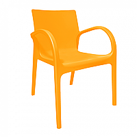Стул пластиковый Гектор оранжевый