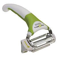 Нож для нарезки овощей и фруктов Triple Slicer 3 в1