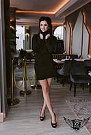 Облегающее мини-платье черное, белое, бордо