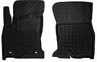Полиуретановые передние коврики для Toyota Hilux VIII 2015- (AVTO-GUMM)