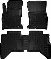 Полиуретановые коврики для Toyota Hilux VIII 2015- (AVTO-GUMM)