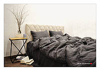 "1.5 комплект из мягкого 100% льна ""Loft Grafit"", фото 1"