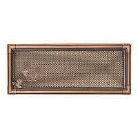 Вентиляционная решетка для камина Parkanex, Retro медная патина 16х45