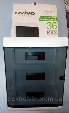 Щиток под 36 автоматов наружный, фото 2