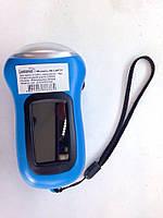 Фонарик LEMANSO 3 LED / LMF37 + солнечная батарея голубой