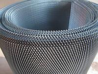 Сетка штукатурная просечно вытяжная оцинк. Ячейка: 2х8мм, Толщина листа: 0,5мм, Ширина листа: 0,5м.